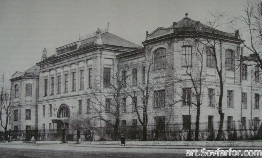 Архитектуре конца 19 начала 20 века