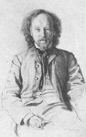 К Сомов Портрет Вяч Иванова Граф акварель гуашь 1900 г